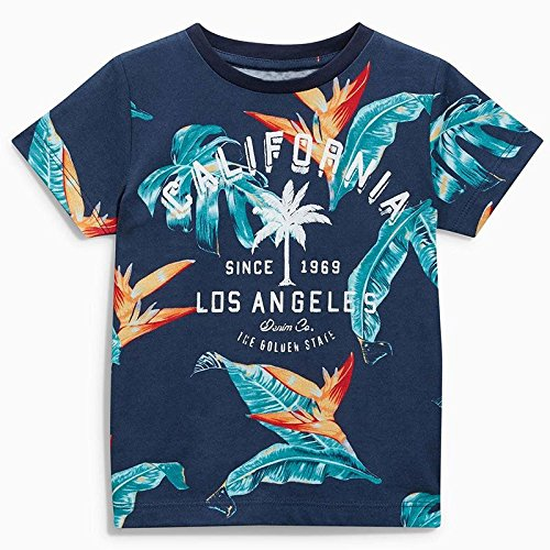 Boys Los Angels The Golden State Tee and Roll-up Shorts Set 5t by Frogwill (Image #2)