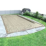 Robelle 531632R Camouflage In-Ground Swimming Pool Winter Cover for 16 x 32' Pool
