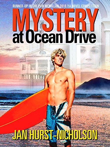 Book cover image for Mystery at Ocean Drive (teen action adventure)