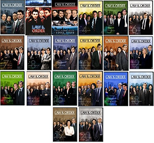 (Law & Order Complete Series Ultimate Collection Seasons 1-20)