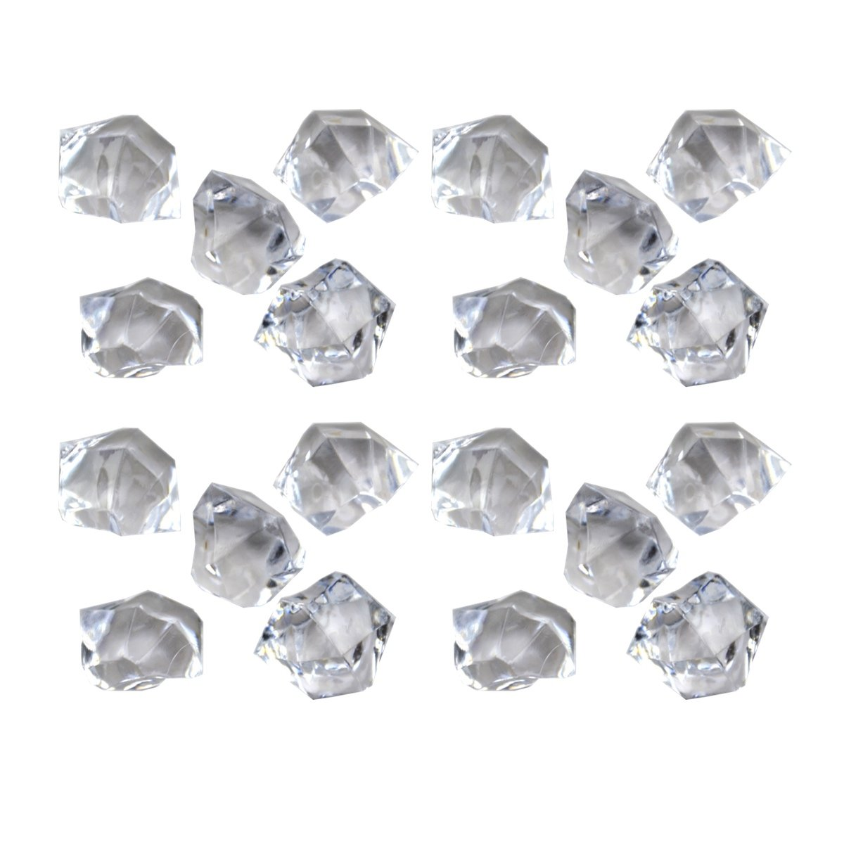 Acrylic Clear Ice Rock Cubes 300g//Bag Great Idea for Vase Fillers and Table Decorating