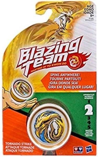NEW Hasbro Blazing Team Masters Yo Kwon Do Level 2 Yo-Yo Tornado Strike Dragon