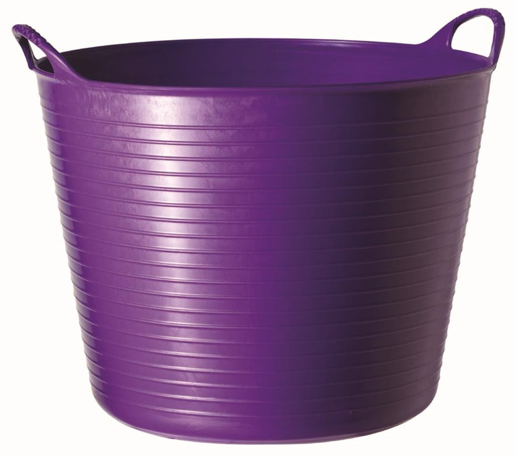 TubTrug SP26P Medium Purple Flex Tub, 26 Liter