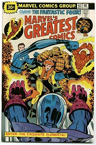 Marvel's Greatest Comics #63 VF- 7.5