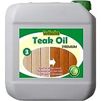 Gardinarium TEAK OIL/PREMIUM (Solventsiz Natürel Tik Yağı) 2½ lt