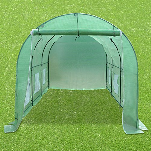Strong Camel New Hot Green House 12'X7'X7' Larger Walk in Outdoor Plant Gardening Greenhouse by Strong Camel (Image #7)