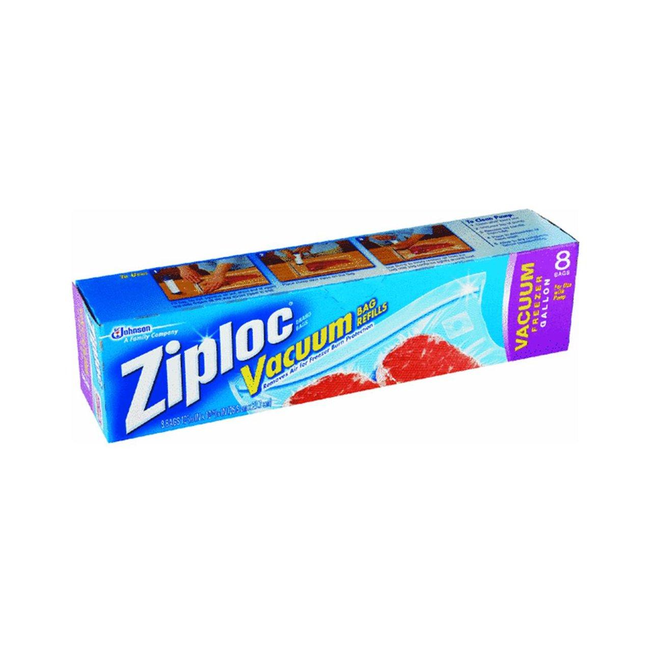 Amazon.com: Caja de 8 bolsas Ziploc para envasar al ...