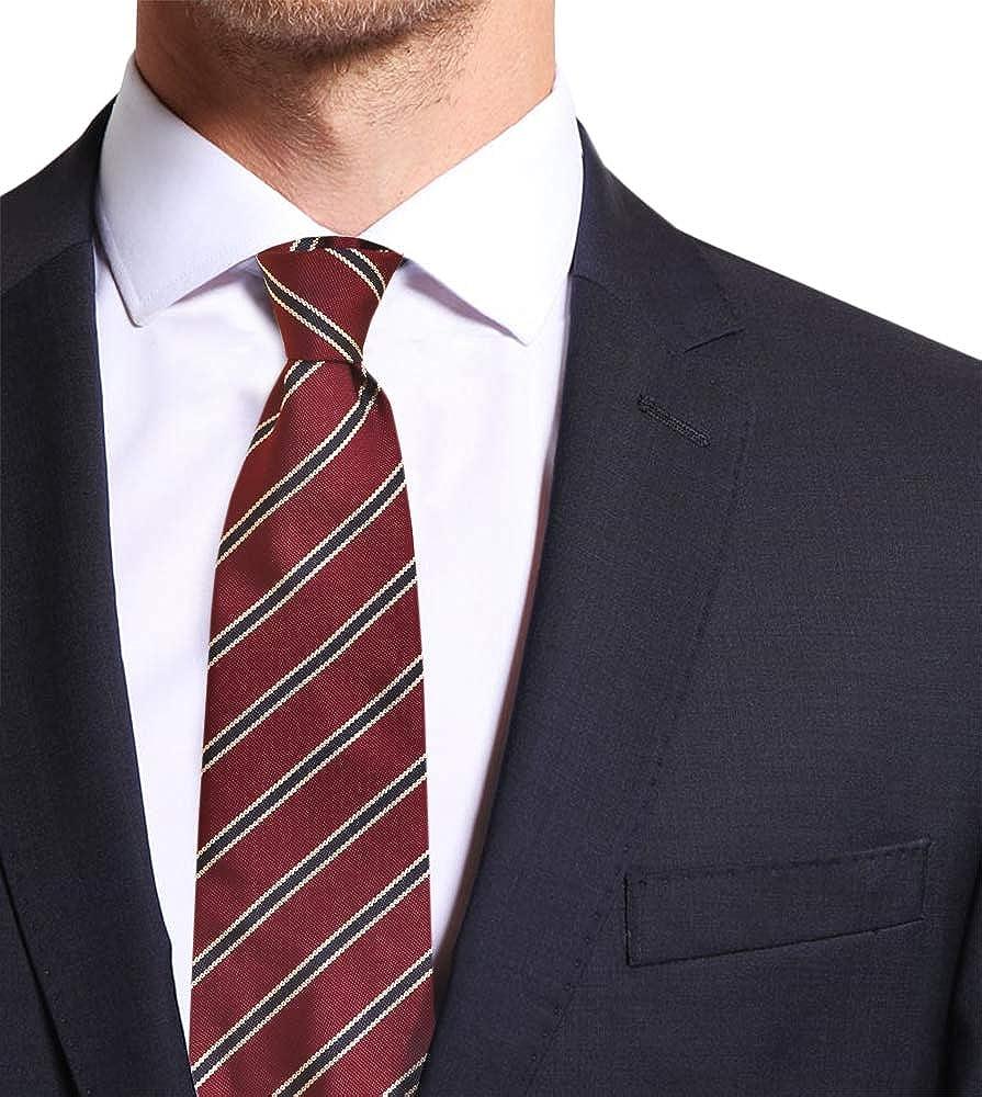Remo Sartori - Corbata de sastrería con cinco pliegues de seda a ...