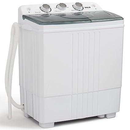 Amazon.com: DELLA Small Compact Portable Washing Machine Washer ...