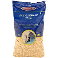 Johnston & Jeff Budgerigar Seed Bird Food 3kg
