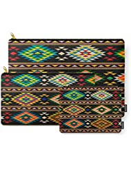 Society6 American Indian Seamless Pattern Carry-All Pouch