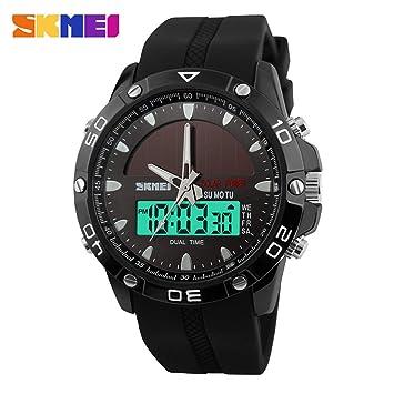 Reloj Digital Deportivo Para Hombre - Reloj Deportivo Impermeable Al Aire Libre Con Reloj Despertador /