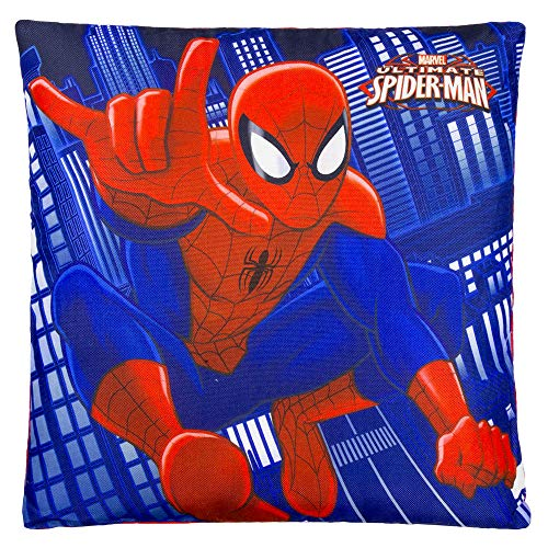 13 X 13 Spiderman Decorative Pillow for Kids/Toddler with Nice Quality (Spider Man Toddler Bedding)