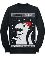 Amazon.com: Big Trex Santa Ugly Christmas Sweater - Children Funny ...