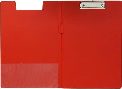 Clipboard PVC A4 rot Esselte 56043 Klemmmappe