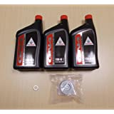 New 2000-2006 Honda TRX 350 TRX350 Rancher ATV OE Basic Oil Service Kit