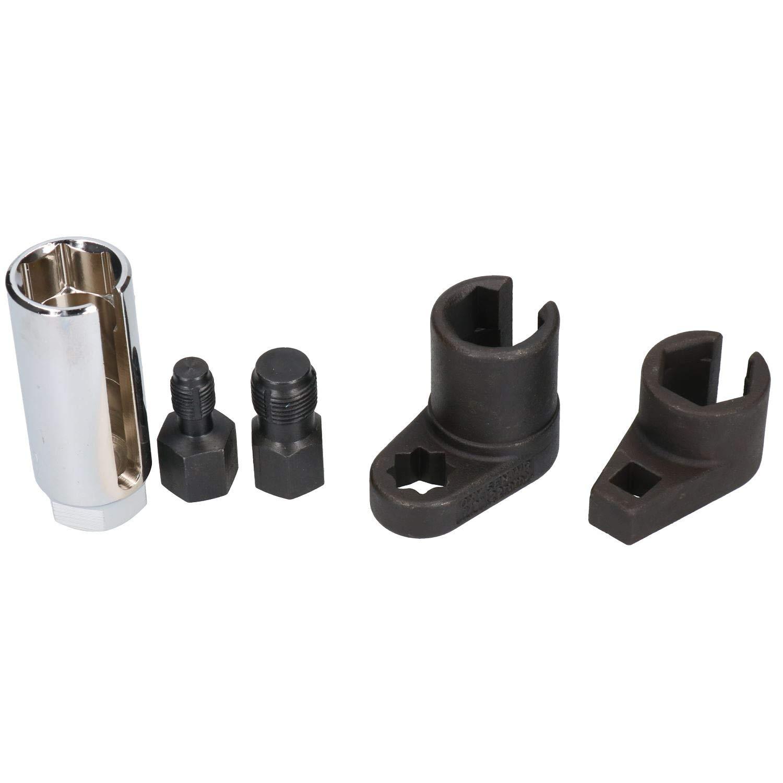 Vacuum Sensor Sockets Thread chaser Set Lambda Sensor 5pc AB Tools-BlueSpot Offset Oxygen