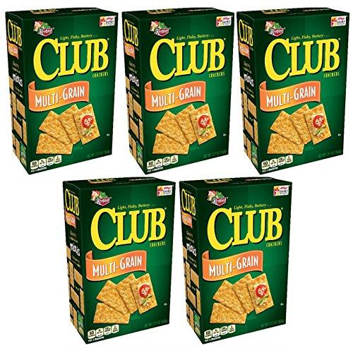 Keebler Club Snack Crackers (Multi-Grain, Pack of 5) by Keebler