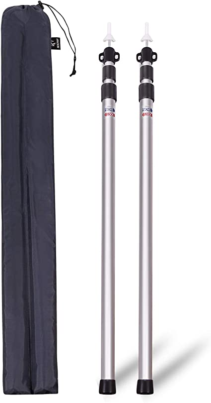New Kelty Adjustable Pole for Tarps Tent Poles Camping Awning Canopy Adjustable