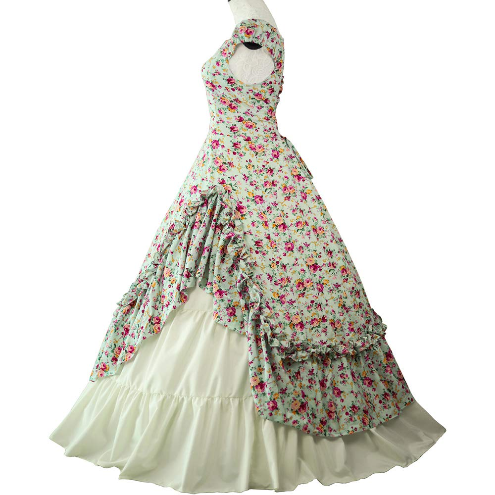 Amazon.com: Loli Miss - Vestido de mujer gótico victoriano ...