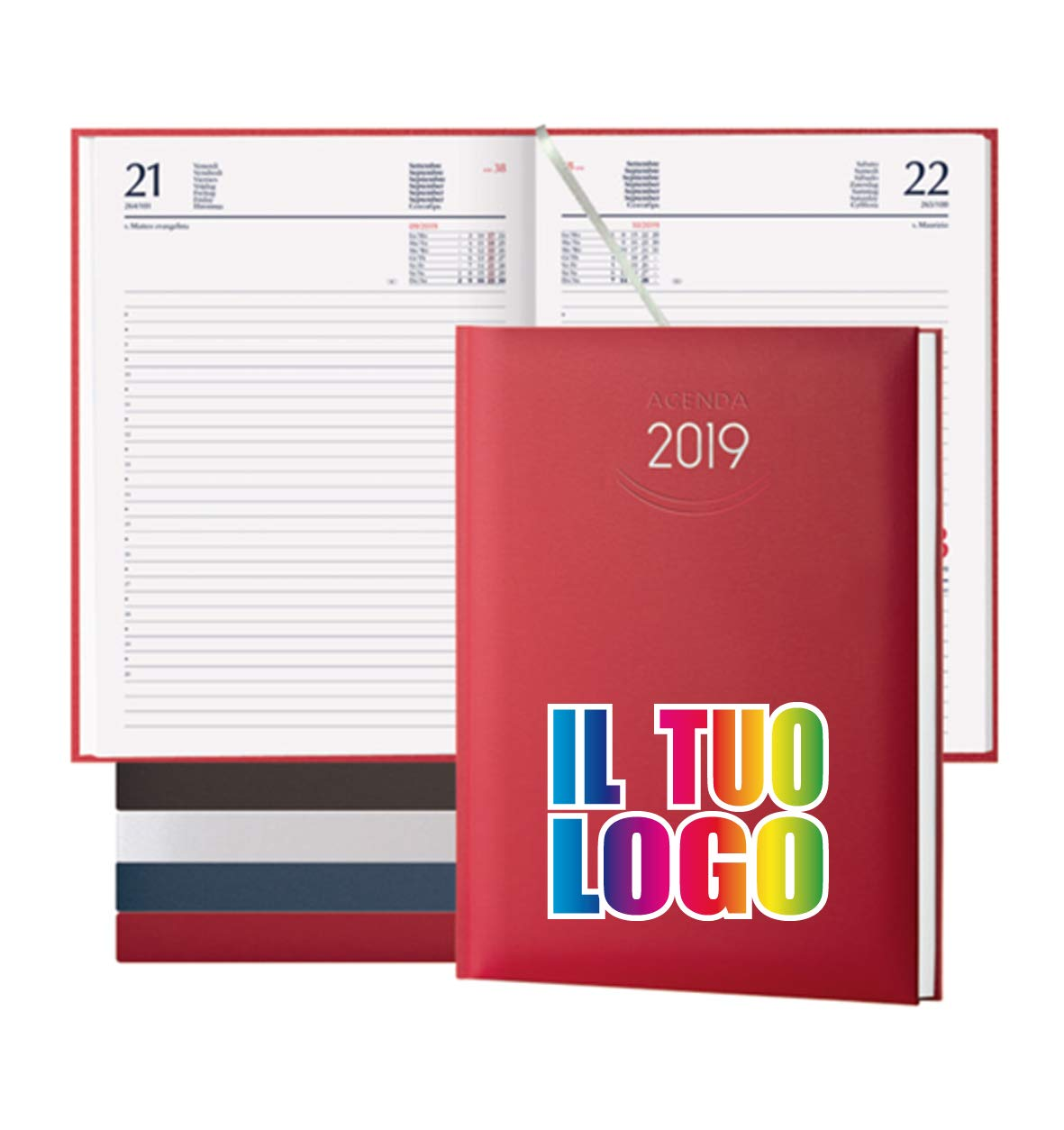 Kalender 2019 Tagebuch Classic DAILY Blau_Fermento Italia blau B07KC4SQPZ     | Kaufen Sie beruhigt und glücklich spielen