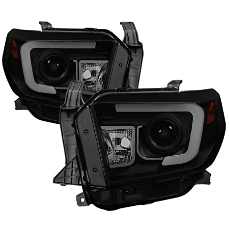 Spyder Auto 5080165 Projector Style Headlights Black/Smoked