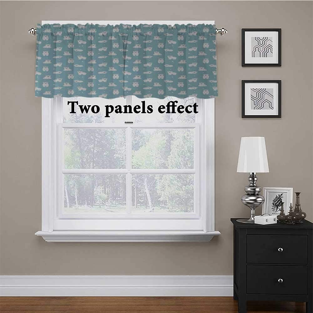 Amazon.com: Curtain Valances Baby for Living Room/Kitchen/Bedroom