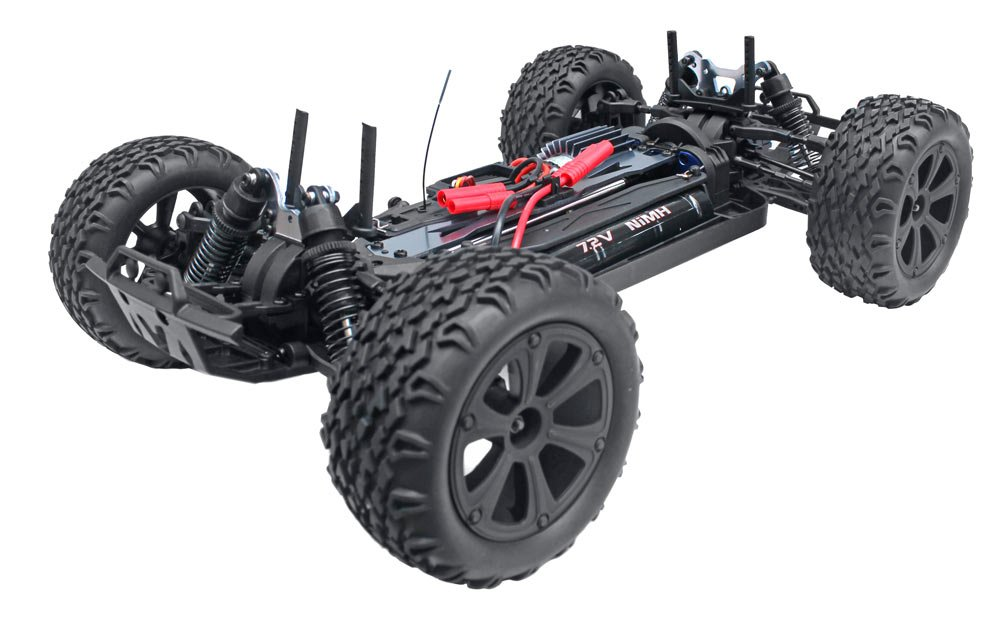Redcat Racing Blackout XTE 1/10 Scale Electric Monster Truck with Waterproof Electronics, Red by Redcat Racing (Image #7)