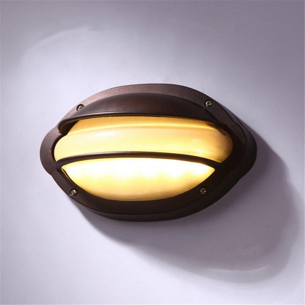 alla moda In stile europeo a LED esterno esterno esterno impermeabile lampada da parete personalità creative villa giardino parete luce esterna cafe corridoio luci del corridoio  qualità di prima classe