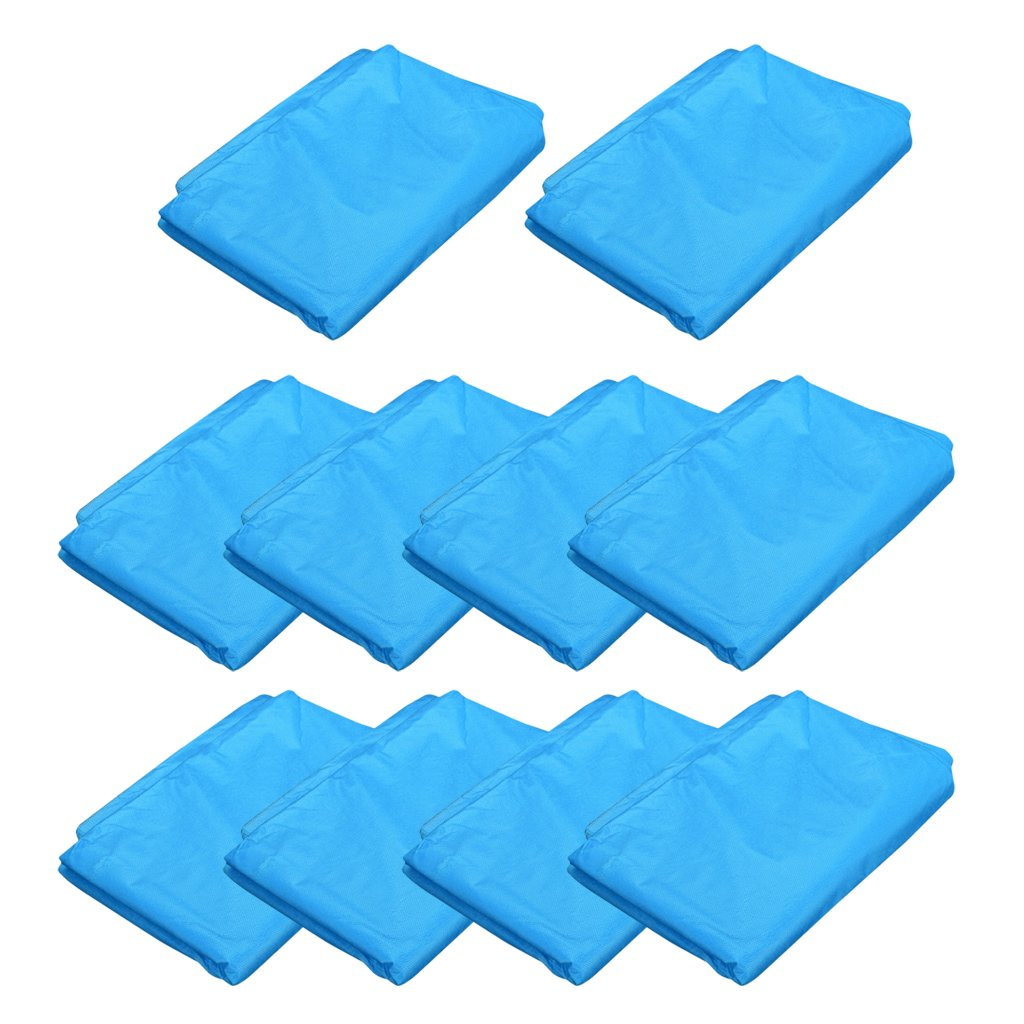 Baoblaze 10pcs Salon Spa Bed Sheets Disposable Tattoo Massage Bed Cover Protector Non-Woven Waterproof Anti-oil 69 x 28 inches