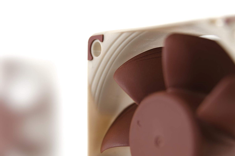 60mm, Brown 3-Pin Noctua NF-A6x25 FLX Premium Quiet Fan