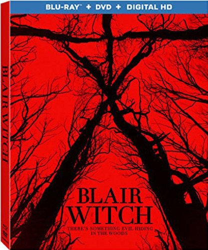 DVD : Blair Witch (2016) [Blu-ray + DVD + Digital HD]