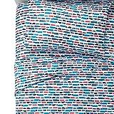 Pillowfort Toddler Boy's Transportation and Trucks Sheet Set - 100% Cotton - Total Transport (Full)