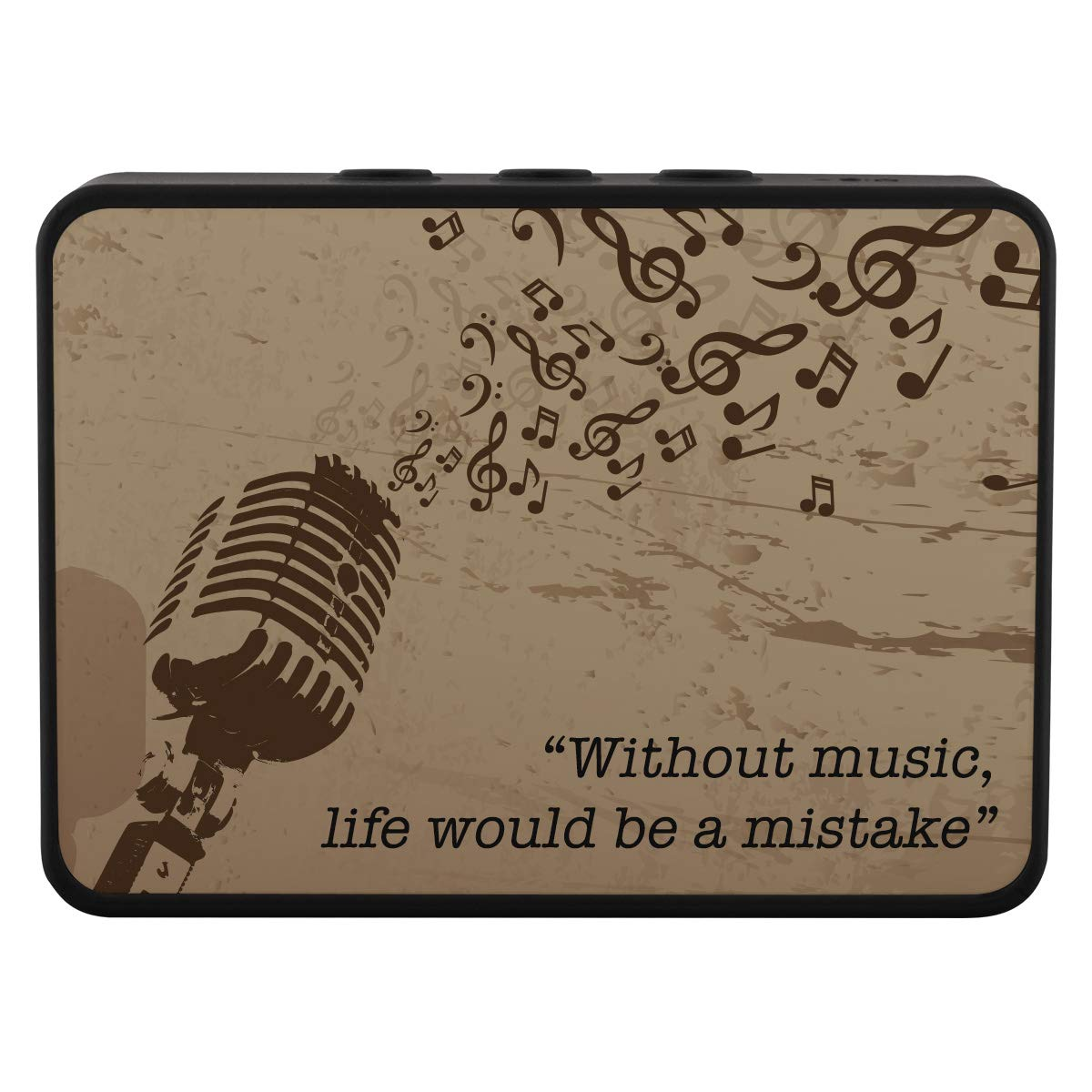 Music Gives a Soul to The Universe スピーカーBluetooth。 B07JMF3H85
