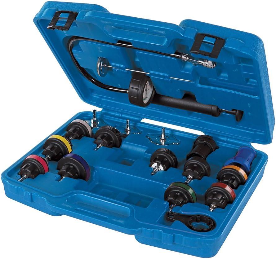 Silverline 647951 Medidor y Comprobador de Presión de Radiadores, Multicolor