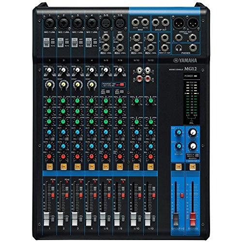 Yamaha MG12 12-Input 4-Bus Mixer (Mixing Yamaha Consoles)