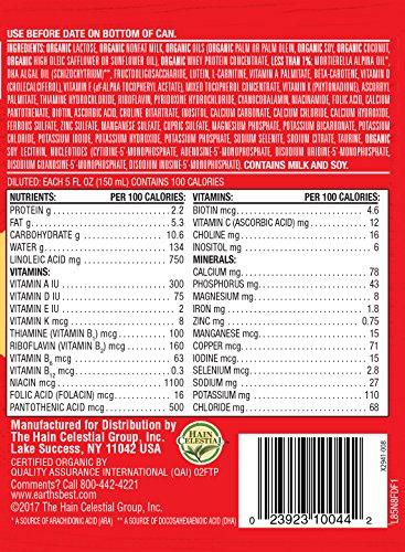 616K8krlgdL - Earth's Best Organic Dairy Infant Powder Formula With Iron, Omega-3 DHA And Omega-6 ARA, 23.2 Oz