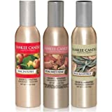Yankee Candle Concentrated Room Sprays: Macintosh, Home Sweet Home, Sage & Citrus; Set of 3 Popular Fragrances