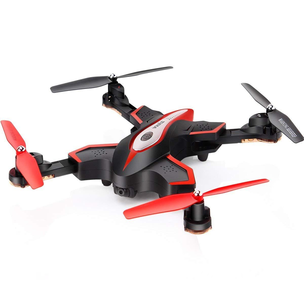 AIR BASE Portátil Plegable RC Helicóptero Drone 2.4Ghz 6-Gyro Altitude Hold Y Una Clave Despegue Avión De Aterrizaje Mini Quadcopter Sin Cámara Negro