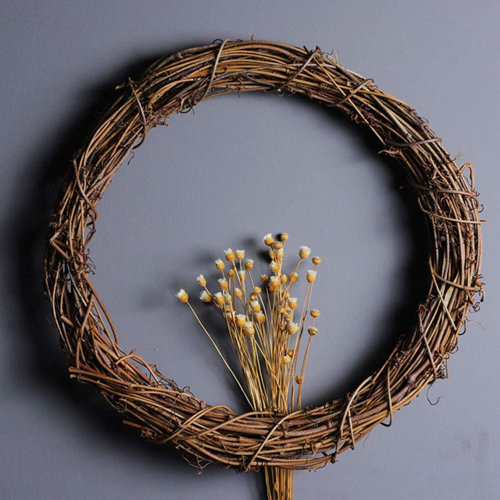 Christmas Shabby Chic Natural TWIG STAR HEART or CIRCLE 30cm Wreaths
