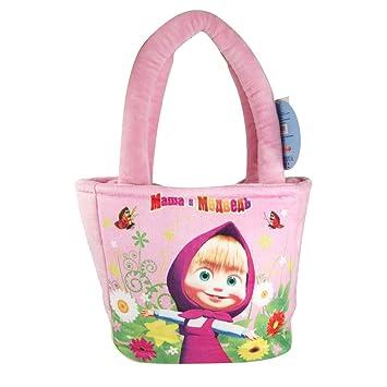 Masha and the Bear handbag 8 20cm PINK