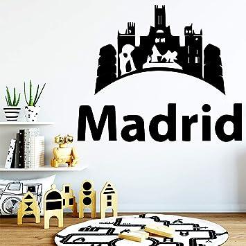 Amazon.com: Divertido adhesivo de pared de Madrid para ...