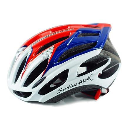 Qianliuk Mens Ciclismo Carretera Mountain Bike Casco Outdoor Big capacete Bicicleta Casco Cool Casco para Hombre: Amazon.es: Deportes y aire libre