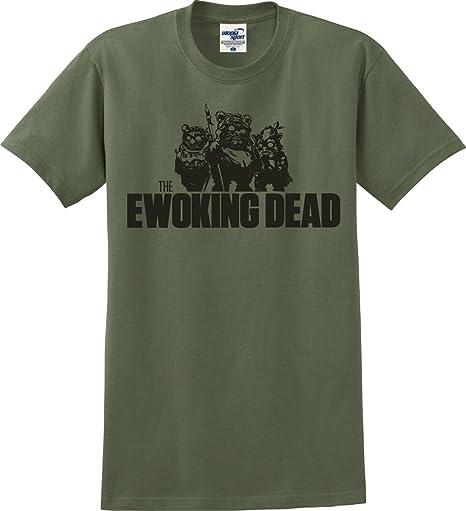 Utopia Sport The Ewoking Dead Zombie Walking Dead Star Wars Parody T Shirt (S 5 X) by Utopia Sport