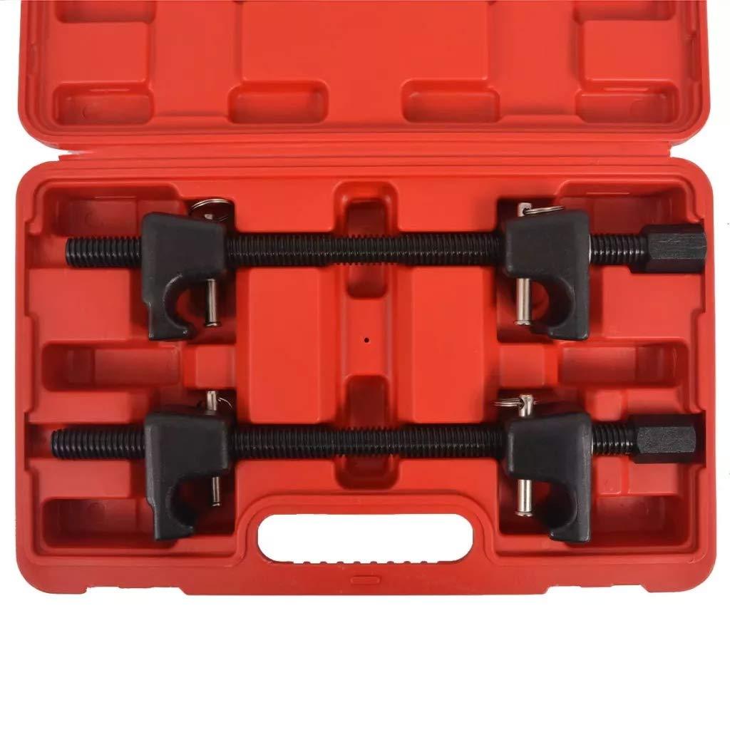 Compressori//Compressore per smontaggio molle ammortizzatori 26cm Set di 2 Pezzi compressore a molla professionale Compressore per Molle