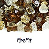 Dakota - Fire Glass Blend for Indoor and Outdoor Fire Pits or Fireplaces | 10 Pounds | 1/2 Inch