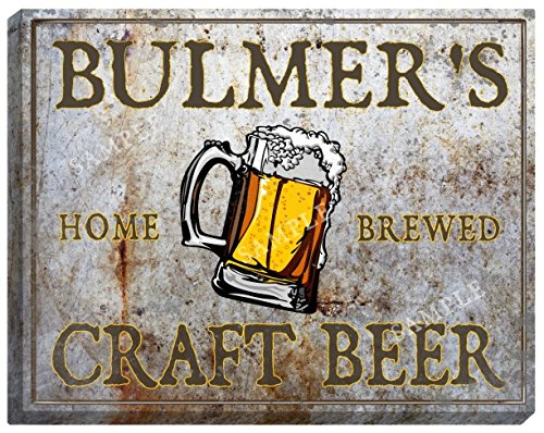 bulmers-craft-beer-stretched-canvas-sign-24-x-30