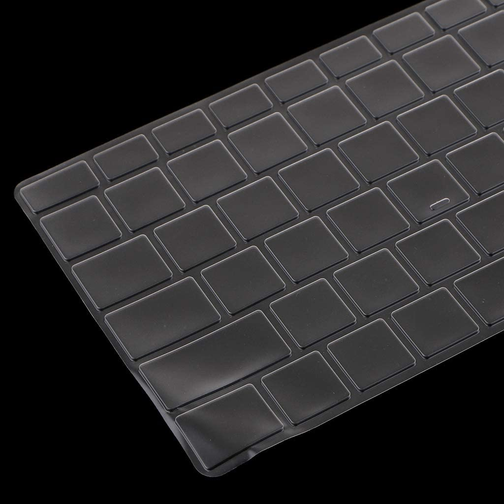 B Baosity TPU Tastaturabdeckung Tastaturschutz Hautabdeckung Keyboardschutz Skin Folie Schutzfilm f/ür Microsoft Surface Book 2