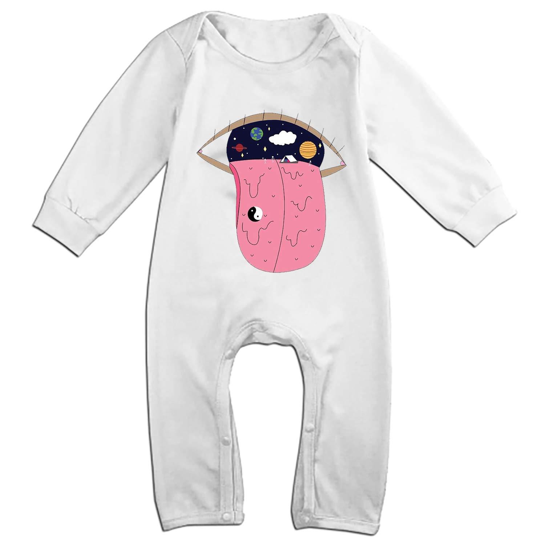 6M-24M WANL Unisex Baby Bodysuits Cotton One-Piece Suit