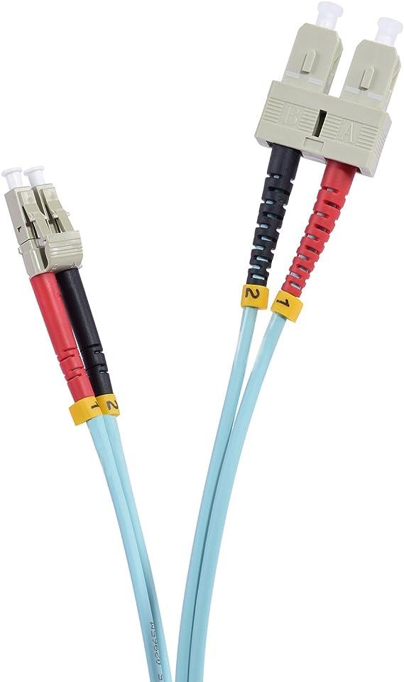TPFNet 20m LWL Multimode Kabel ST//ST OM3 Duplex 50//125/µm 10 Gigabit//s